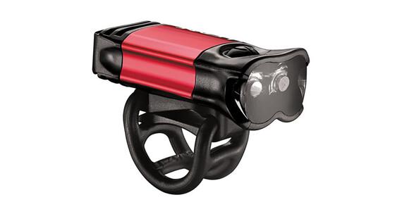 Lezyne KTV Drive Pro USB Frontscheinwerfer rot glänzend